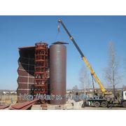 Резервуары вертикальные стальные РВС фото