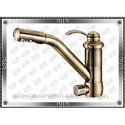 Смеситель для кухни Zorg Clean Water ZR400KF-47-BR фото