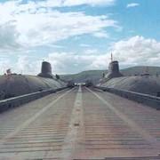 Тяжелый плавучий металлический причал Пр. 15163 фото