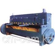 Электромеханическая гильотина Q11 4х4000 фото