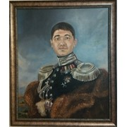 Портреты, картины на заказ фото