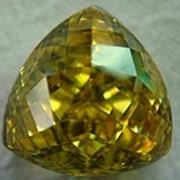 Фианит желтый фото