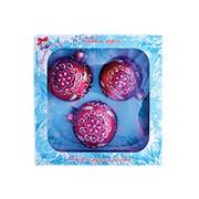 Набор новогодних шаров Магический фото