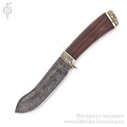 Нож Скат (дамаск), Арт. 2080 фото