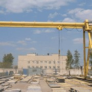 Кран козловой электрический ККТ грузоподъемностью 5 тонн, управлением из стационарной кабины фото