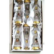 Фужеры для шампанского (Богемское стекло) фото