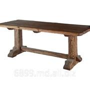 Стол из натурального дерева фото