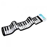 Цифровой гибкий синтезатор Roll up Piano 49 клавиш фото