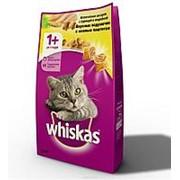 Whiskas 1,9кг Сухой корм для взрослых кошек от 1 года Курица и индейка фото