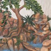 Создание декоративных водопадов и фонтанов. фото