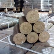 Брикеты (дубовые, диаметр 90 мм), дубовые фото