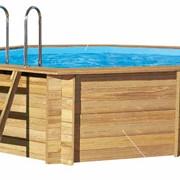 8-ми угольный бассейн «Одиссея» Размер: 3,3 х 5,4 м, Высота: 1,33 м фото