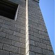 Блоки керамзитобетонные стеновые 390х190х190 мм фото