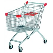 Ремонт тележек покупателя для супермаркетов фото