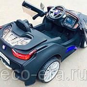 Одноместный электромобиль BMW Style VIP, с резиновыми колёсами фото