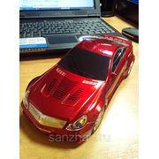 Колонка автомобиль Mercedes SC65 (красная) USB+Micro SD +FM модуль фото