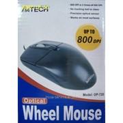 Мышь A4 Tech OP-720 USB Black фото