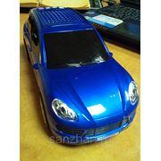 Колонка автомобиль Порш Каен (синяя) USB+Micro SD +FM модуль фото