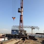 Кран башенный КБ-160 фото
