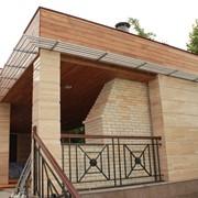Проектирование и сборка уникальных деревянных беседок фото