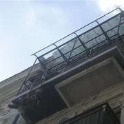 Расширение балконов фото