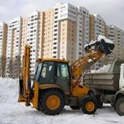 Вывоз грунта, мусора и снега фото