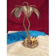 Бронзовая пальма фото