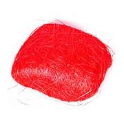 Plastiflora Сизалевое волокно 250 гр красный фото