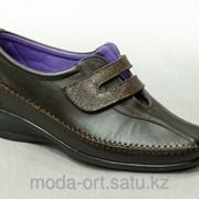 Комфортная демисезонная обувь 30К коричневый Монтенеро фото