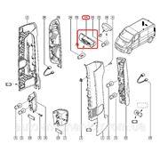 Фонарь подсветки номера (ляда) на Renault Trafic 01-> - Renault (Оригинал) — 82 00 434 685 фото