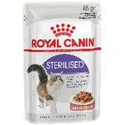 Royal Canin 85г пауч Sterilised Влажный корм для взрослых стерилизованных кошек (соус) фото
