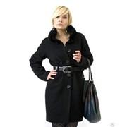Пальто женское «Милитари» зимнее фото