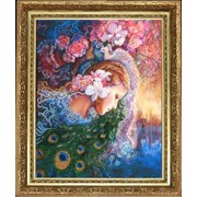 Наборы для вышивания бисером Райские птицы (по картине J.Wall) фото