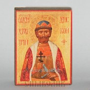 Икона св. блгв. кн. Дмитрий Донской для авто фото