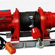 Лебедка строительная электрическая KDJ- 1000E1 (1 т, 60 м) фото