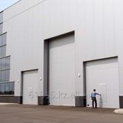 Ворота промышленные въездные фото