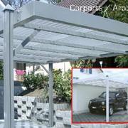 Навесы автомобильные алюминиевые фото