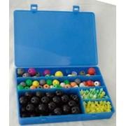 Комплект моделей атомів для складання молекул (дем.) фото