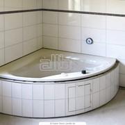 Ванна угловая акриловая фото