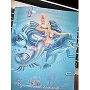 """Блокнот А5 96 л. Prof-Press """"Русалка и дельфины"""" цвет. страницы, склейка, мат.ламин., лак, Б96-4403 фото"""