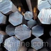 Шестигранник стальной горячекатанный № 90 мм ст. 20, 35, 45, 40Х длина от 3 до 6 м фото