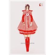 Тильда Тая. Интерьерная кукла ручной работы. фото