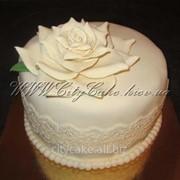 Торт свадебный №0096 код товара: 1-0096 фото