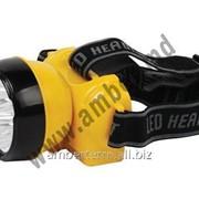Фонарь налобный HL347L 0.7W Horoz (33416) фото