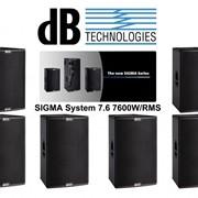 Db technologies sigma s115 фото