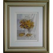 Картина-миниатюра Жёлтый букет фото