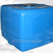 Емкость пластиковая OD КUB вертикальная1400 фото