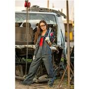 Костюм для работников СТО женский фото