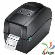 Принтер этикеток Godex RT200 термотрансферный 203 dpi, Ethernet, USB, RS-232, блок питания, кабель, 011-R20E02-000 фото