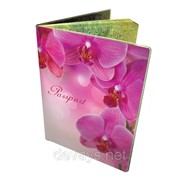 Стильная обложка на паспорт Орхидеи фото
